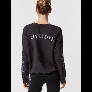 Spiritual Gangster Give Love Crew Sweatshirt